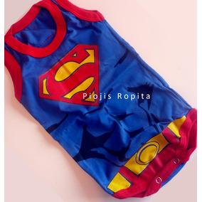 Body Superman Bebe Con Capa - Ropa y Accesorios para Bebés en ... ce64e35f502