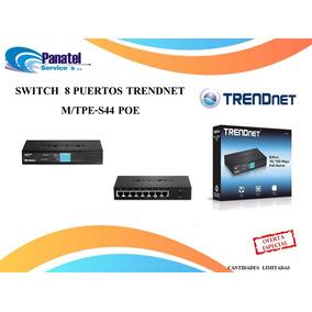 Switch 8 Puertos Trendnet M/tpe-s44 Poe