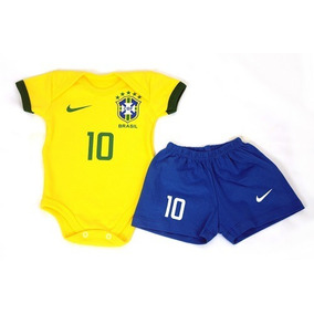 8a2e688612 Promoção Body Bebê Time Seleção Brasil Personalizado