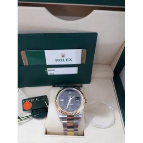 0fd06a3389b Rolex Oyster Perpetual Datejust Em Relogios Antigos Colecao ...