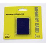 Memory Card 8mb Ps2- Play Station 2
