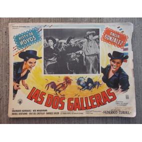 Vintage Raro Lobby Card Kitty De Hoyos Las Dos Galleras!