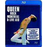 Queen Rock Montreal & Live Aid Blu-ray Nuevo Original Import
