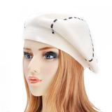 Zlyc Reversible De Mujer Cachemir Boina Sombrero Doble Ca f22b6071195