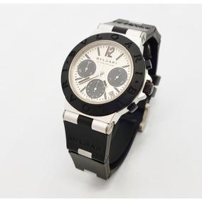 Reloj Bvlgari Aluminio Chronografo Automatico Cono Nuevo