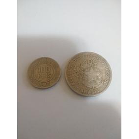 Moedas De 100 E 400 Réis 1927