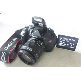 Canon 600d T3i Com Lente 18-55mm . Desconto A Vista