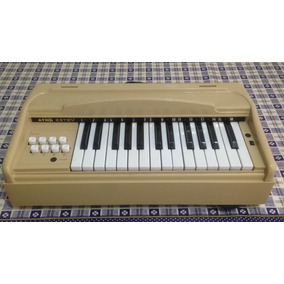 Antigo Orgão Teclado Piano 110v Elétrico Atma Não É Hering