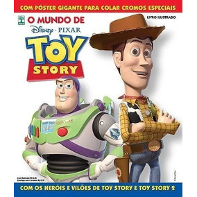 Album O Mundo De Toy Story 2010 + 100 Fig Sem Repetição