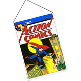 1 X Action Comics Wall Scroll 22 X 32