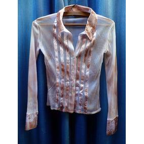 ce0f6e56a9 Camisas Mujer Blanca Transparente - Ropa y Accesorios
