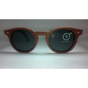 6a172e9a52e3f Oculos De Sol De Madeira Unissex Redondo Shwoods - 40% Off