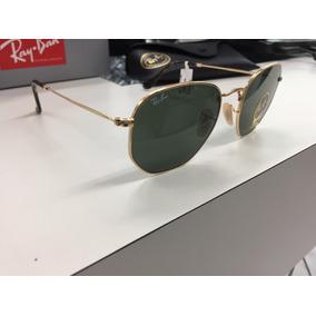 Oculos Ray Ban Rbn3548 N Hexagonal 51 Dourada - Óculos em Paraná no ... c05440f815