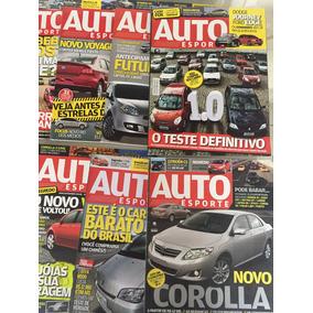 3 Anos Da Revista Auto Esporte 36 Edições Frete Gratis