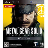Metal Gear Solid Peace Walker Hd Edition Latino Digital Ps3