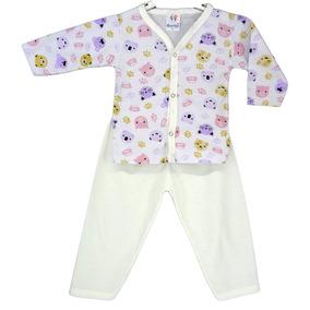Kit 4 Pijama Bebê Infantil Longo Atacado Menino E Menina