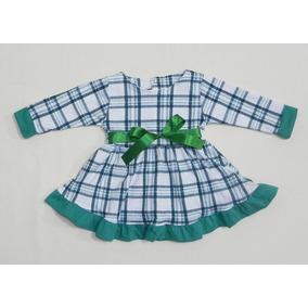 a82897faf Vestido Xadrez Mactoot Infantil - Calçados, Roupas e Bolsas Verde no ...