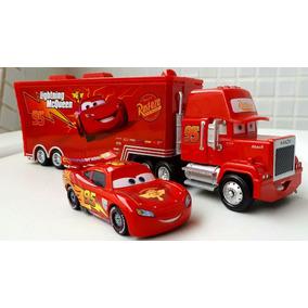 Disney Carros Relâmpago Mcqueen + Caminhão Mack