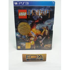 Ps3 Jogo Lego Hobbit + Filme Blue Ray