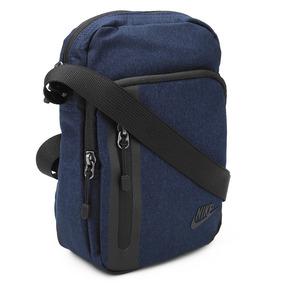 Bolsa Shoulder Bag Nike Tech Small Items Azul Escuro