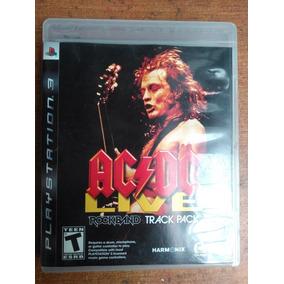 Ac/dc Live Rock Band Track Pack - Ps3 Brinde Metalgear