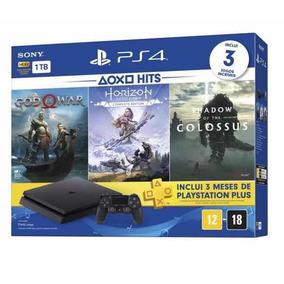 Ps4 1tb God Of War /horizon/ Shadow Of The Colossus