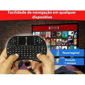 Kit 2 Teclado Mini Usb Otg Para Smart Tv Android Pc Notebook
