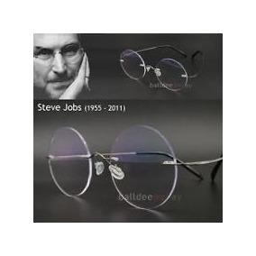 50efd86891684 Óculos Redondo Do Steve Jobs - Óculos no Mercado Livre Brasil