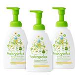Babyganics Baby Shampoo + Body Wash, Manzanilla Verbena,.