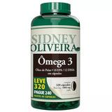 Omega 3 Sidney Oliveira 320 Capsulas Oferta Especial