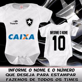 2a7d2c6cda Body Botafogo - Bodies Manga Curta de Bebê no Mercado Livre Brasil