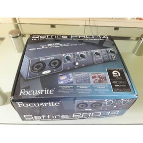 Interface De Áudio Focusrite Pro 14