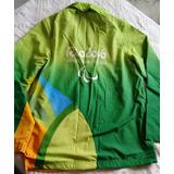 a435fea641 Casaco Verde Olimp Ada Rio 2016 no Mercado Livre Brasil