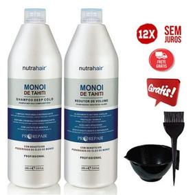 Redutor E Shampoo Monoi De Tahiti Nutra Hair + Brinde