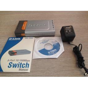 Swich D-link 8 Puertos 10/100 Mbps Des1008d