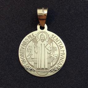 0eb163560dd Medalla De San Benito Oro - Dijes y Medallas Oro Sin Piedras en ...