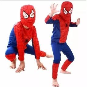 Fantasia Infantil Longa Homem Aranha Spider Man Promocao