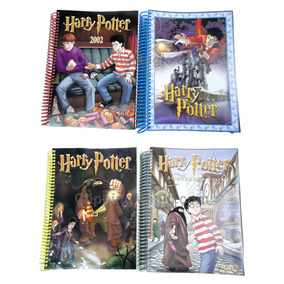 Caderno Argolado Harry Potter 200 Fls 2019