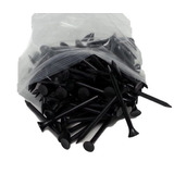 Protee Golf Tees 100-pack), Negro