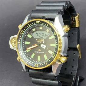 ea5b407a318 Citizen Aqualand Serie Ouro - Relógio Citizen Masculino no Mercado ...