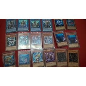Deck Gishki + Deck Atlantis Yugi-oh 143 Cards (rarísimos)