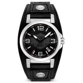 Reloj Harley Davidson Original Para Hombre 76b163