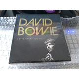 David Bowie - Box Five Years 1969-1973 - Box Novo E Lacrado