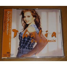 Thalia Cd En Extasis Japon Primera Edicion 1996 Valiente