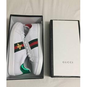 Zapatillas Gucci Abeja Y Tigre Delivery Gratis