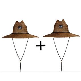 Dois Chapéus Quiksilver Pierside (palha) - Darkbrown