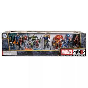 Marvel Studios 10th Mega Set 20 Figuras Infinity War Disney