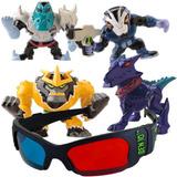 Coleção Miniaturas Mini Figuras Omniverse E Óculos 3d Ben 10 c13e8f88ae