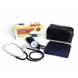 Kit Aparelho De Pressão + Estetoscópio Premium