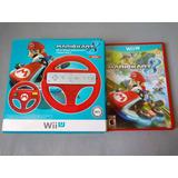 Mario Kart 8 Con Volante Original Para Nintendo Wii U